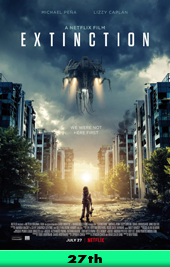 extinction netflix movie poster