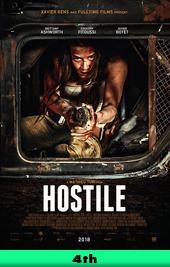 hostile movie poster