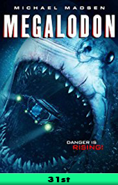 megaladon movie poster