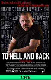to hell and back kane hodder movie poster
