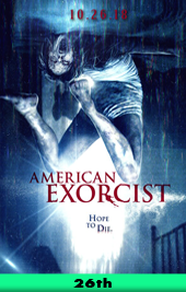 american exorcist movie poster