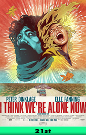 i think were alone now movie poster