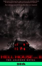 helll house llc II movie poster