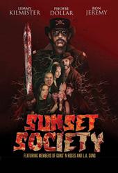 sunset society movie poster