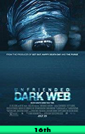 unfriended dark web movie poster