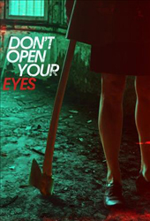 dont open your eyes movie poster