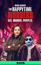 happy time murders movie poster