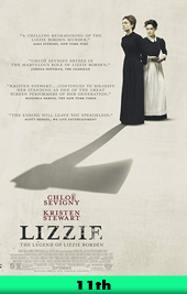 lizzie movie poster VOD