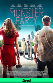 monster party movie poster VOD