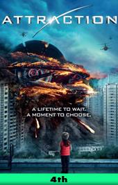attraction movie poster VOD