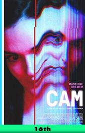 cam movie poster vod
