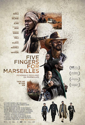 five fingers for marseilles movie poster vod