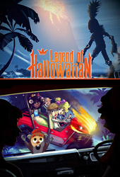 the legend of hallowiian movie poster vod