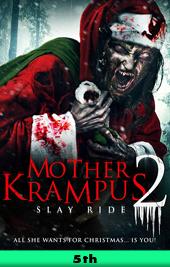 mother krampus 2 slay ride movie poster VOD